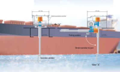 Máy rửa vệ sinh hầm hàng tàu hàng