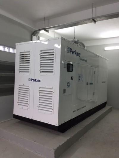 Cung cấp và lắp đặt máy phát điện Perkins 350 KVA
